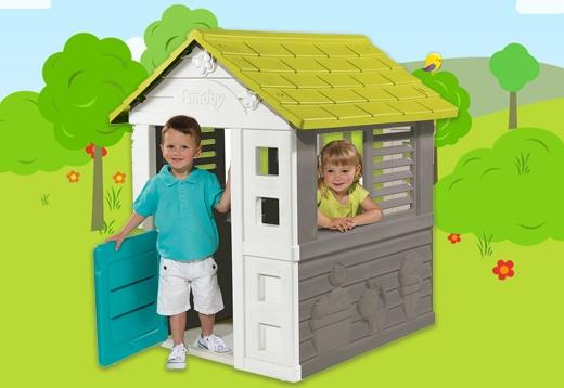 Spielhäuser für kleine Gärten_1