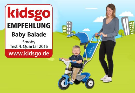 Kidsgo: Bestnoten für unsere Baby Balade Dreiräder!_1