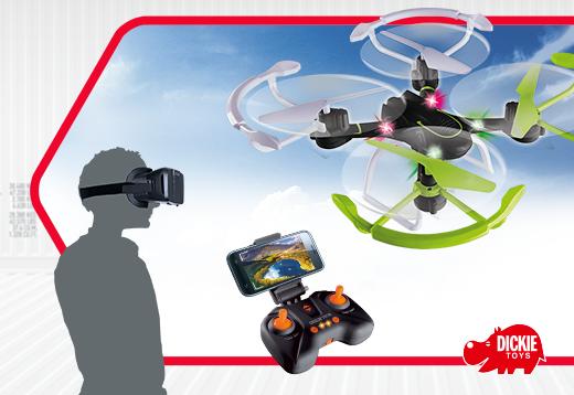 NEU: Dickie Toys Quadrocopter Linie_1