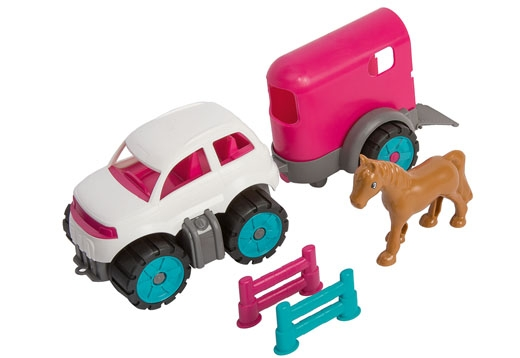 BIG-Power-Worker Mini Ponytransporter Set_1