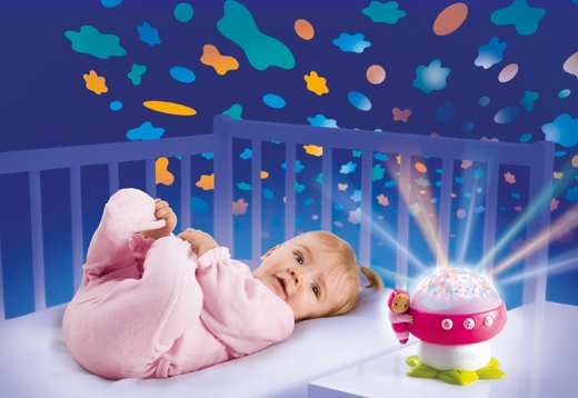 Gute-Nacht-Pilz mit Deckenprojektor_1