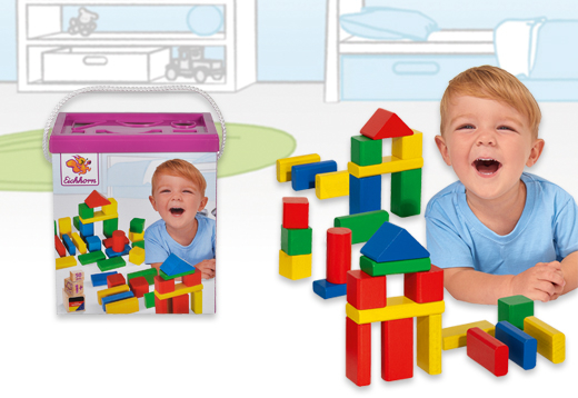 Cubo con 50 bloques de madera de colores_1