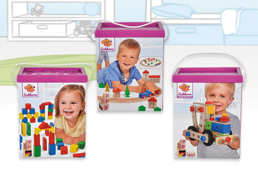 Cubos madera varios modelos: 100 bloques, crea tu vehículo, o circuito de tren._1