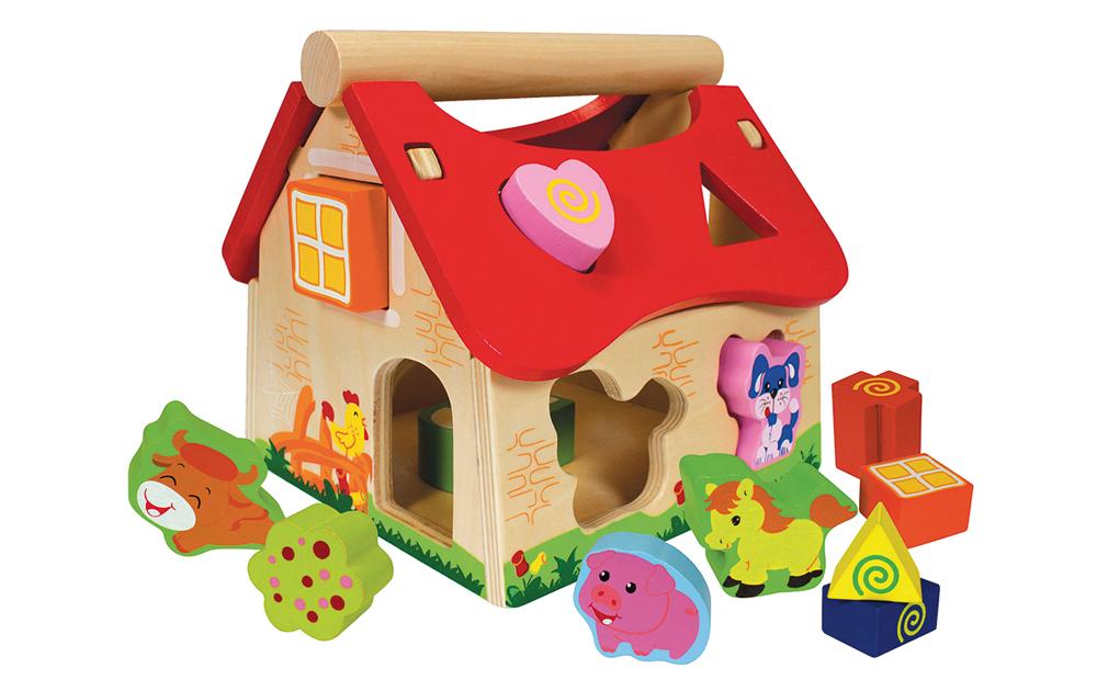 Casa de madera con formas encajables_2