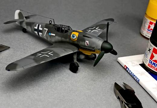1:72 Bf-109 G-6 Messerschmitt_1