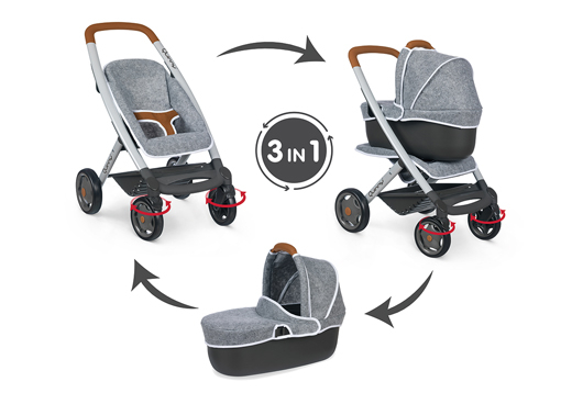 Puppenwagen wie echte Kinderwagen_1