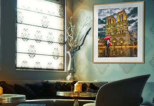 """Die Kathedrale """"Notre-Dame in Paris""""_1"""