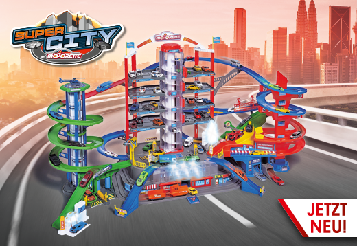 Die neue Majorette Super City Garage_1