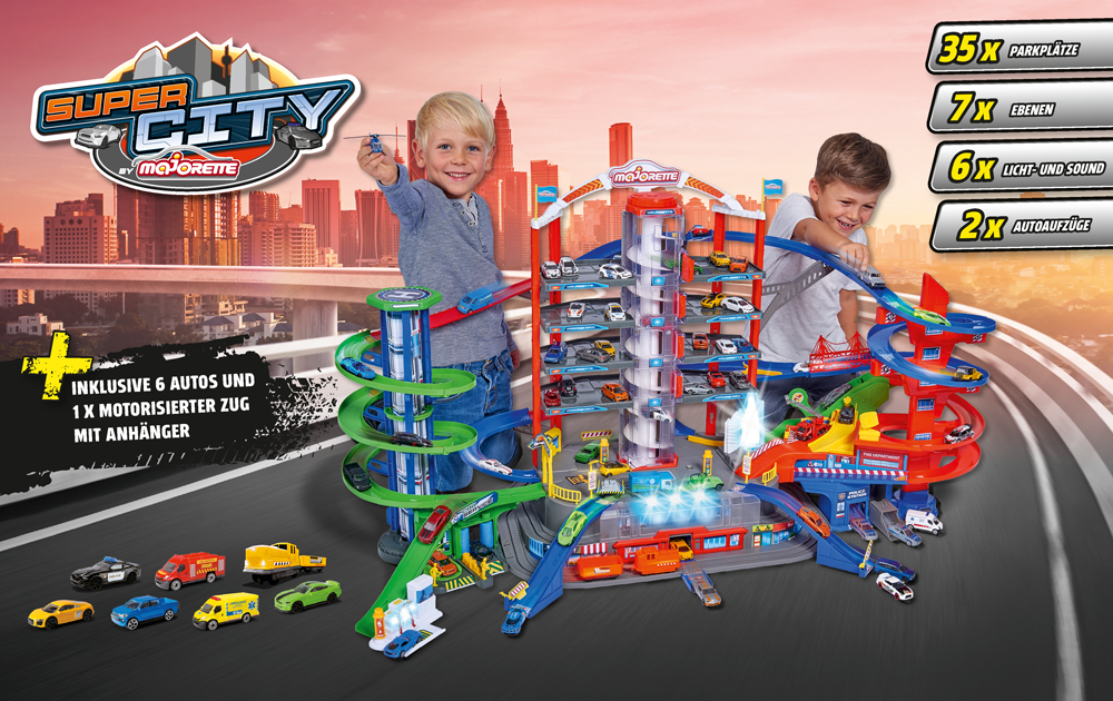 Die neue Majorette Super City Garage_2