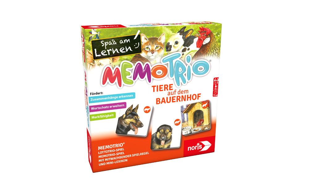 MemoTrio Tiere auf dem Bauernhof_2