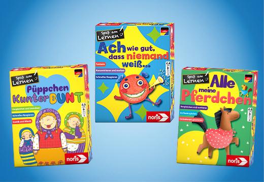 Spaß am Lernen - 3 farbenfrohe Spiele_1