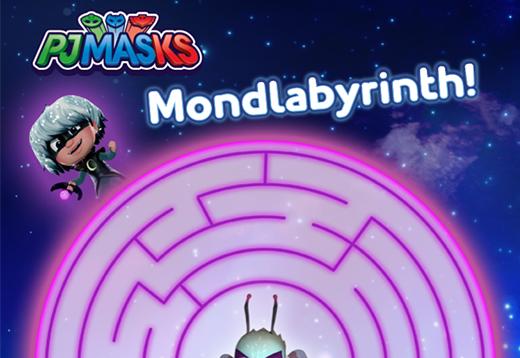 PJ Masks Mondlabyrinth