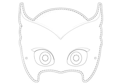 PJ Masks: Owlettes Maske_1