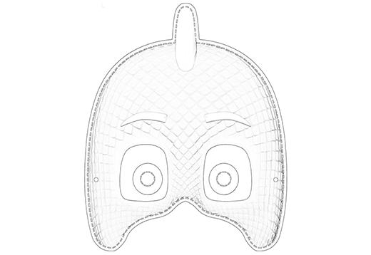 PJ Masks: Gekko Maske_1