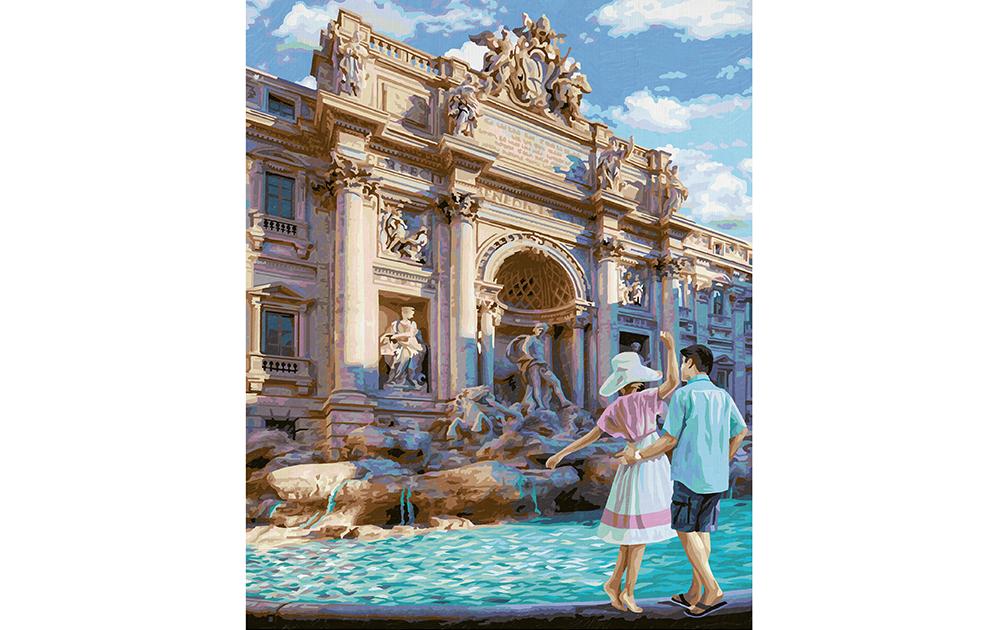 Fontana di Trevi in Rom_2