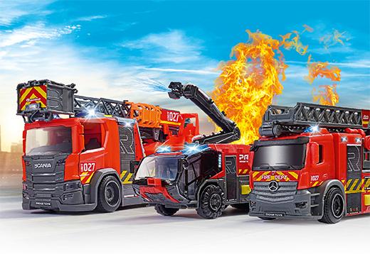 Dickie Toys-Feuerwehren-Teaser
