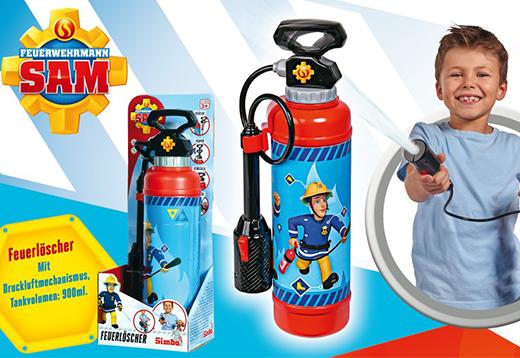 Feuerwehrmann Sam für draußen!_1