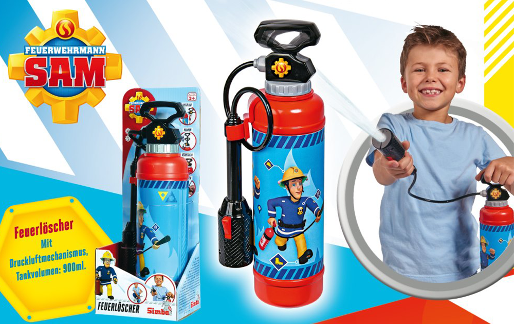 Feuerwehrmann Sam für draußen!_2
