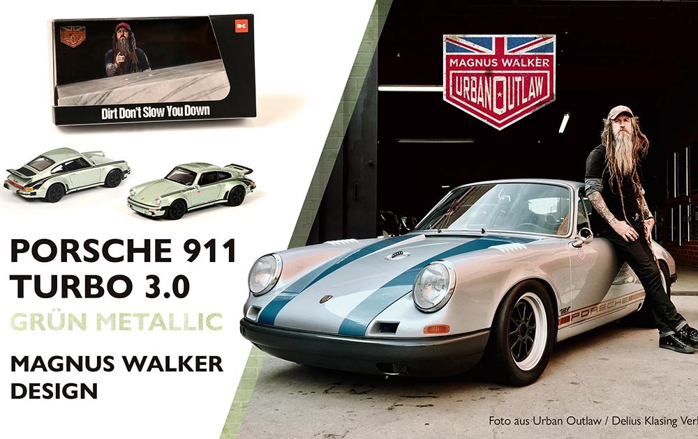 Schuco-Magnus Walker-Porsche 930 News