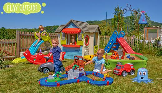 Play Outside – Notre jardin… un terrain de jeu !