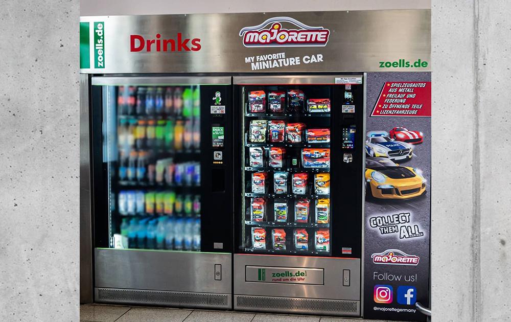Majorette-News-Spielzeugautomat