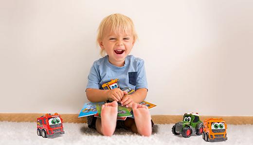 Gemeinsame Produktlinie: Dickie Toys & Tessloff Verlag