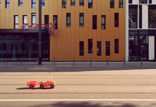 Fotokunst-Projekt mit dem Bobby-Car_1