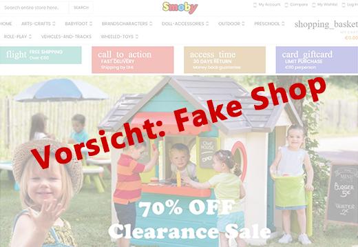 Smoby Toys-Fake Shop Vorschau
