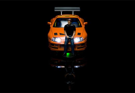 Fast & Furious Modell 1:18 mit Licht_1