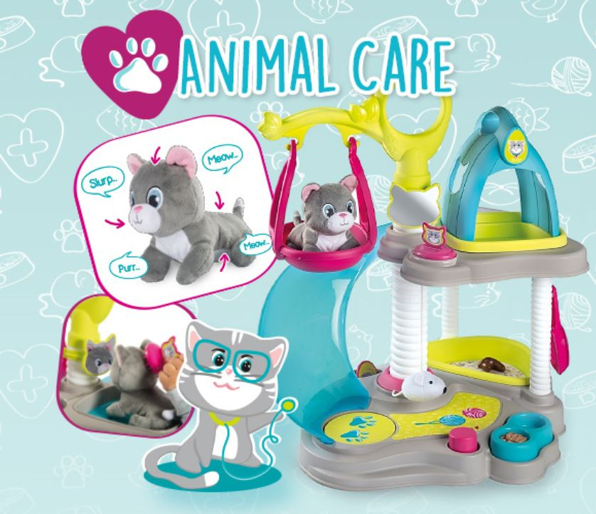 Smoby Katzenhaus und Tierarztkoffer_2