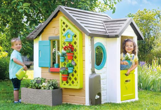 Smoby Spielhaus Gartenhaus_1