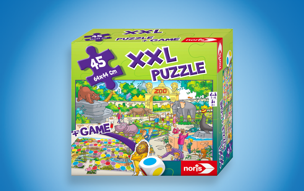 XXL Puzzle Zoo 2 in 1_2