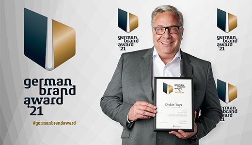 Dickie Toys receives the German Brand Award 2021