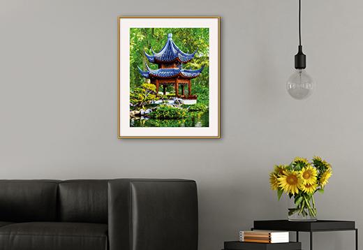 Pagode im japanischen Garten_1
