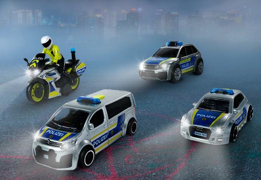 Dickie Toys Polizeifahrzeuge_1
