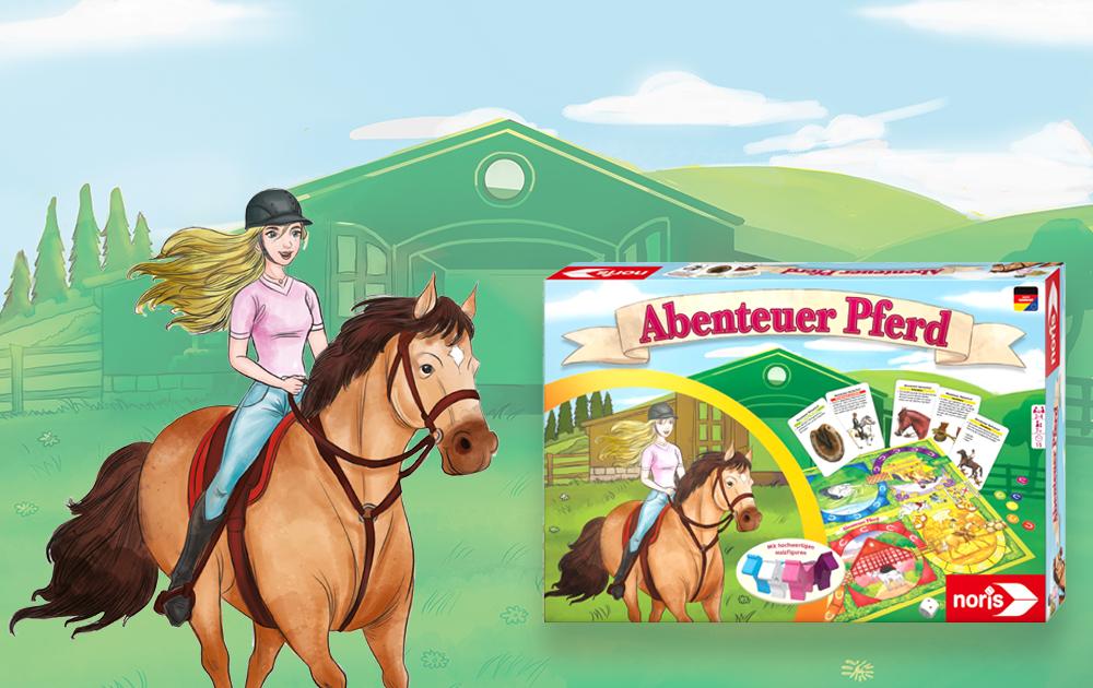 Noris-Abenteuer Pferd Spiel