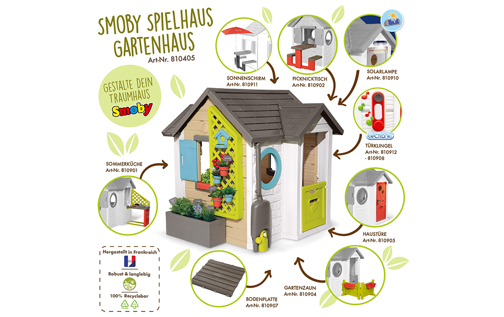 Smoby-Spielhaus Gartenhaus