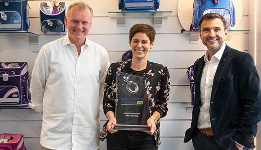 Undercover receives the Ergonomics Innovation Award