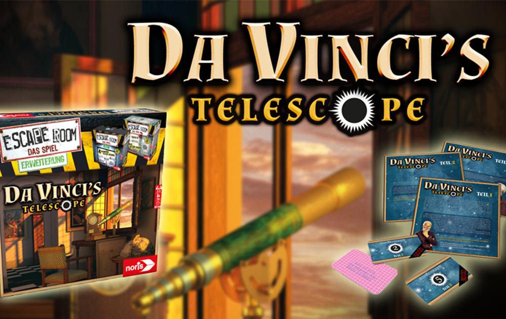 Escape Room Da Vinci´s Telescope_2