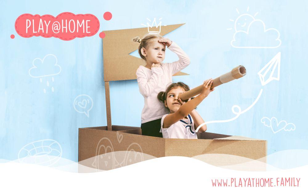Play@Home - Die neue Webseite für Spielspaß zuhause