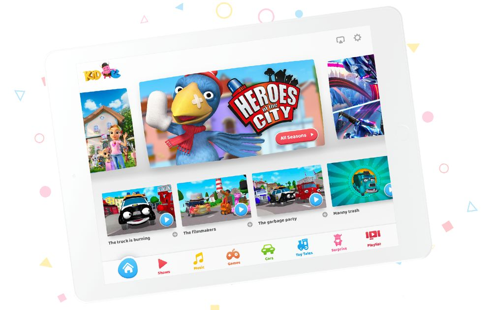 Kid e Tales App - Simba Dickie Group wins children's hearts