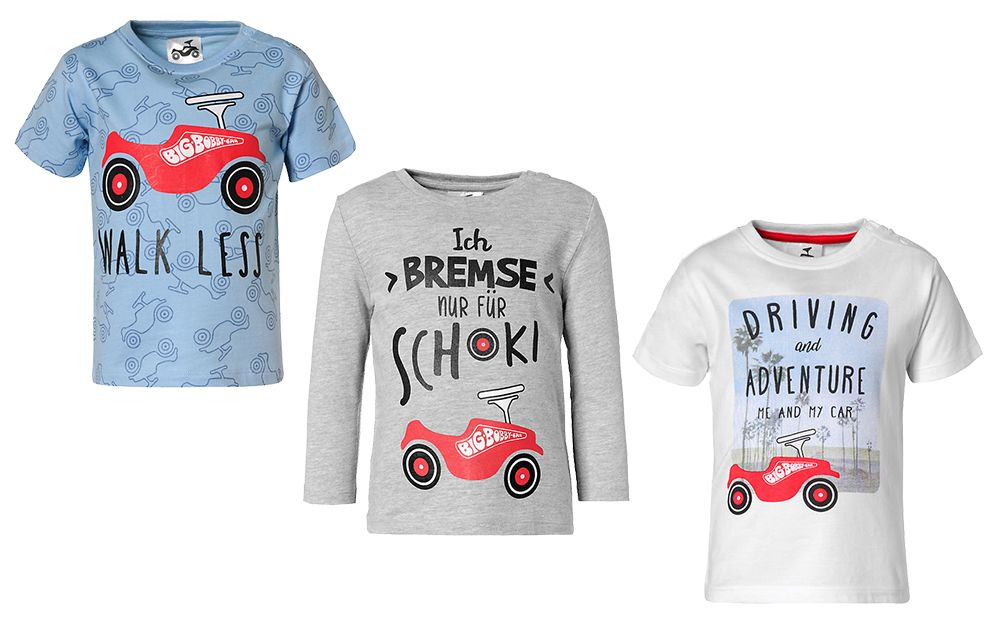 BIG-Bobby-Car - license motives on children's wear
