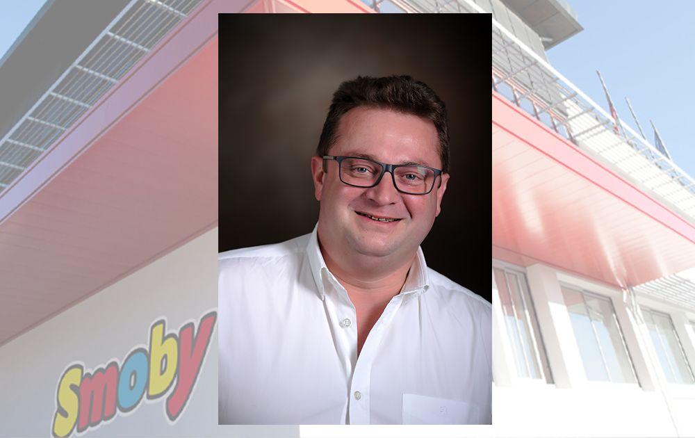 Ab heute neuer Geschäftsführer in Frankreich: Alexis Delorme, Smoby Toys SAS