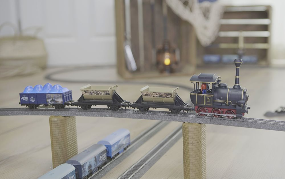 Märklin is going on an adventure trip with Jim Button