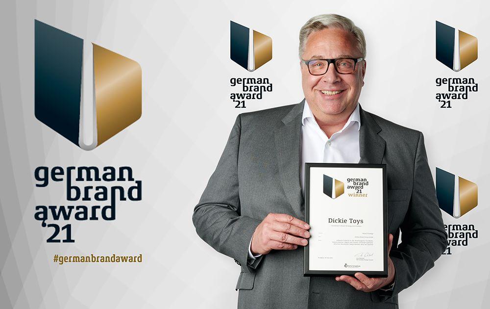 Dickie Toys a remporté le « German Brand Award 2021 »