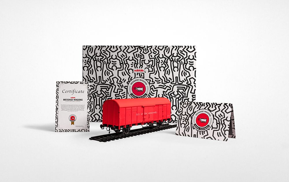 Märklin Message Wagons